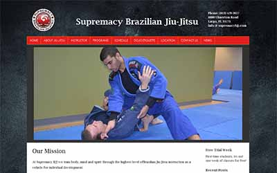 Supremacy Brazilian Jiu-Jitsu Website